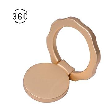 brightup teléfono celular dedo anillo soporte soporte, elegante anillo de dedo teléfono 360 ° Smartphone