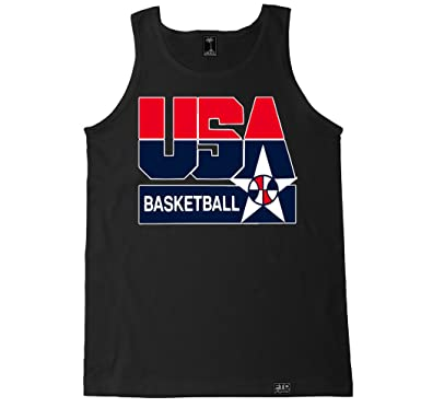 cf142bdc064 Amazon.com: FTD Apparel Men's USA Basketball Tank Top: Clothing