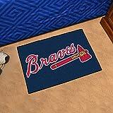 "Fan Mats 6432 MLB - Atlanta Braves 20"" x 30"" Starter Series Area Rug / Mat"