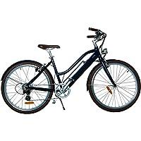 LUTECE Vélo électrique Adulte, Libby Miller, VAE, 26pouces, Aluminium, 250W, Batterie 70km, 19kg avec Batterie, SAV Premium, Livré Monté
