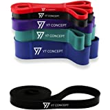 Y7 Concept Resistance Bands – Assisted Pull Up Bands – Exercise Bands for Men & Women – Workout Bands Long for CrossFit - Powerlifting - Mobility Bands (One Band)