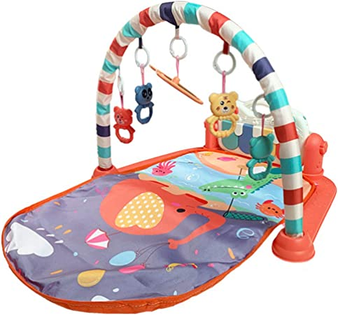 Z SEAT Gimnasio Bebes con Juguetes Colgantes Y Música Tiempo