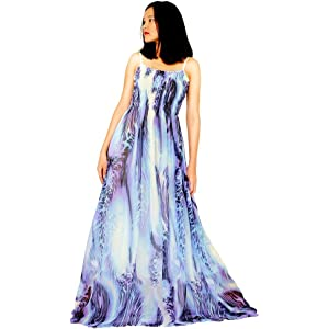 a326ddb65e6d Plus Size Maxi Dress Women Floral Wedding Guest Beach Party Hawaiian Long  Casual Sexy Teen Sundress