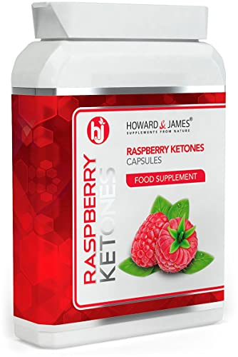 RASPBERRY KETONES 2000mg Daily Serving   Vegetarian & Vegan Friendly Fat Burning Capsules   Max Strength Fat Burners for Men or Women   Boost Metabolism, Suppress Appetite and Increase Energy for Weight Loss (30 Capsules)
