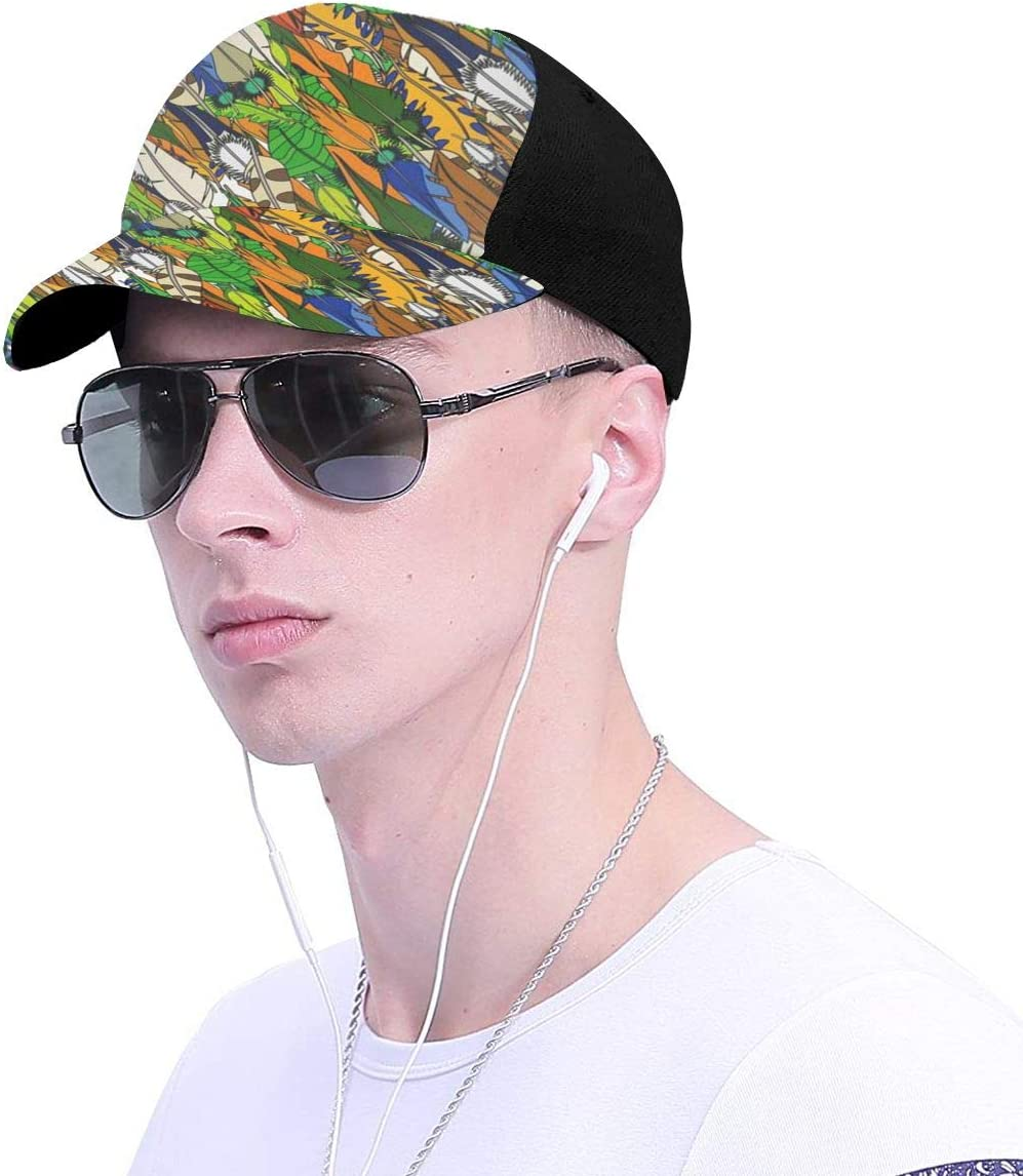 Soft Feather Summer Baseball Caps for Men and Women with Adjustable Snapback Strap
