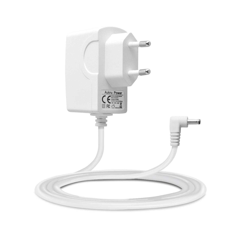 Aukru Chargeur Secteur 7.5V Adaptateur Alimentation pour VTech MobiGo 2, KidiMagic 2, Radiowecker Kidikick, V.Smile etc - Blanc product image