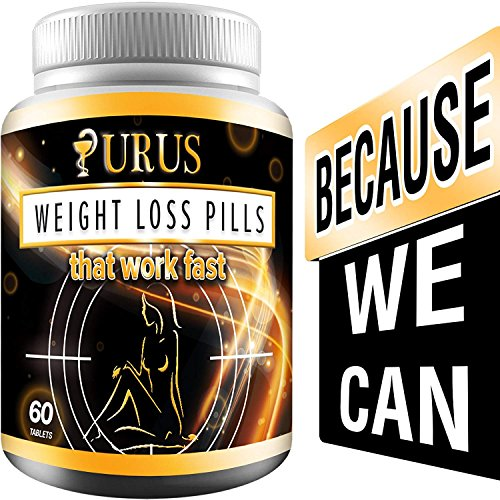 Weight Loss Urus Pills – Work Fast for Women and Men, Diet Pills, Fat Burner, Carb Block & Appetite Suppressant
