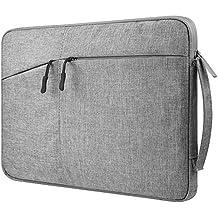 Canvas Zippered Carrying Case Sleeve Bag for HP EliteBook 850 / 755 / HP ProBook 650 / 655 / Samsung Galaxy Notebook 9 Pro 15 / Notebook 7 spin 15.6 / Acer Predator Triton 7 / Helios 300 / 21 X 15.6