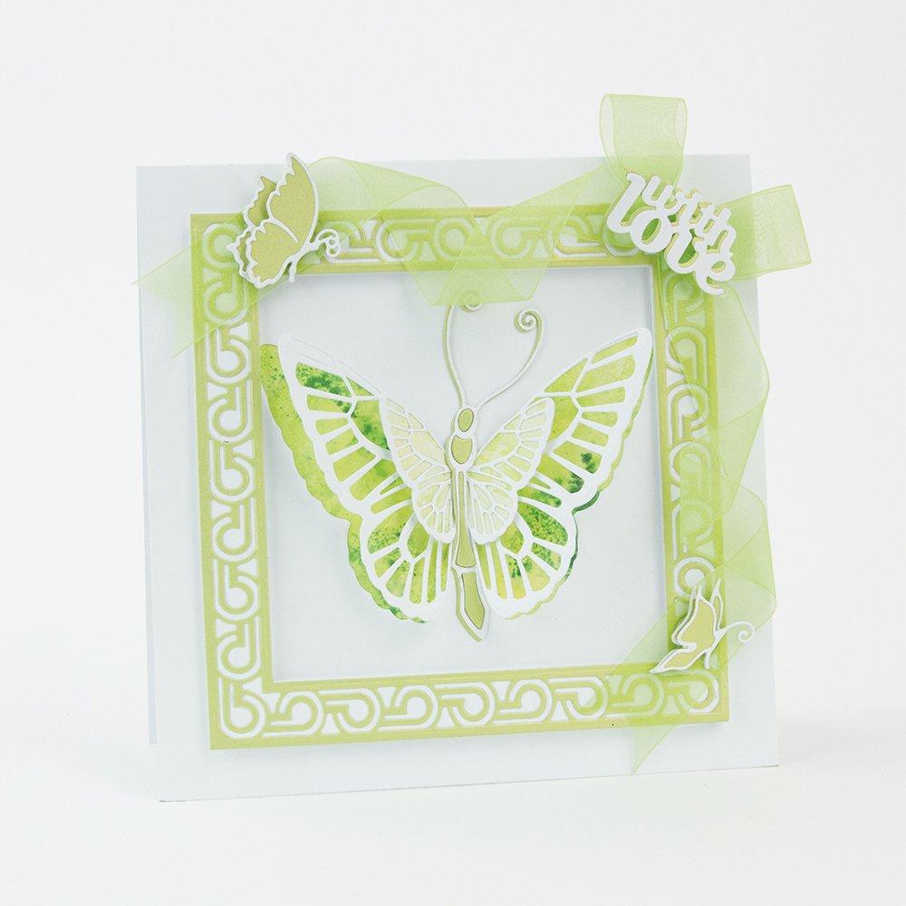Tonic Studios Sterben Set Wings & Things Schmetterling Libelle ...
