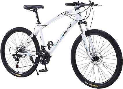 26in Mountain Bike 21 Speed Road Bike Dual Disc Brakes Full Suspension MTB Bikes