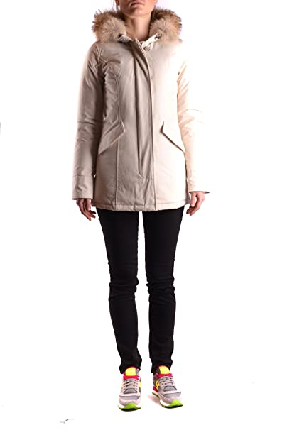 Woolrich - Chaqueta - para Mujer Weiß Talla de la Marca XS ...