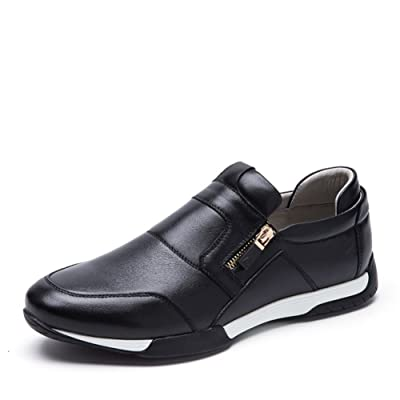 2016Casual men/Real leather shoes foot/Lace casual shoes to help low