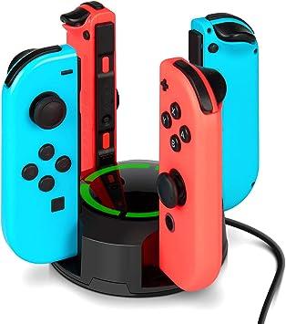Dock de carga para Nintendo Switch Joy Con, NesBull soporte de ...