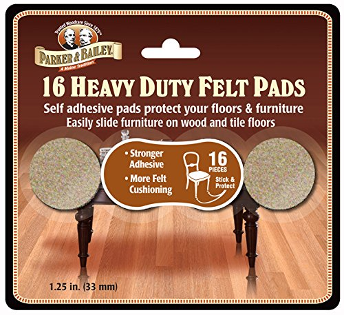 Parker Bailey cleaning product 16 Piece Heavy Duty Felt Pads