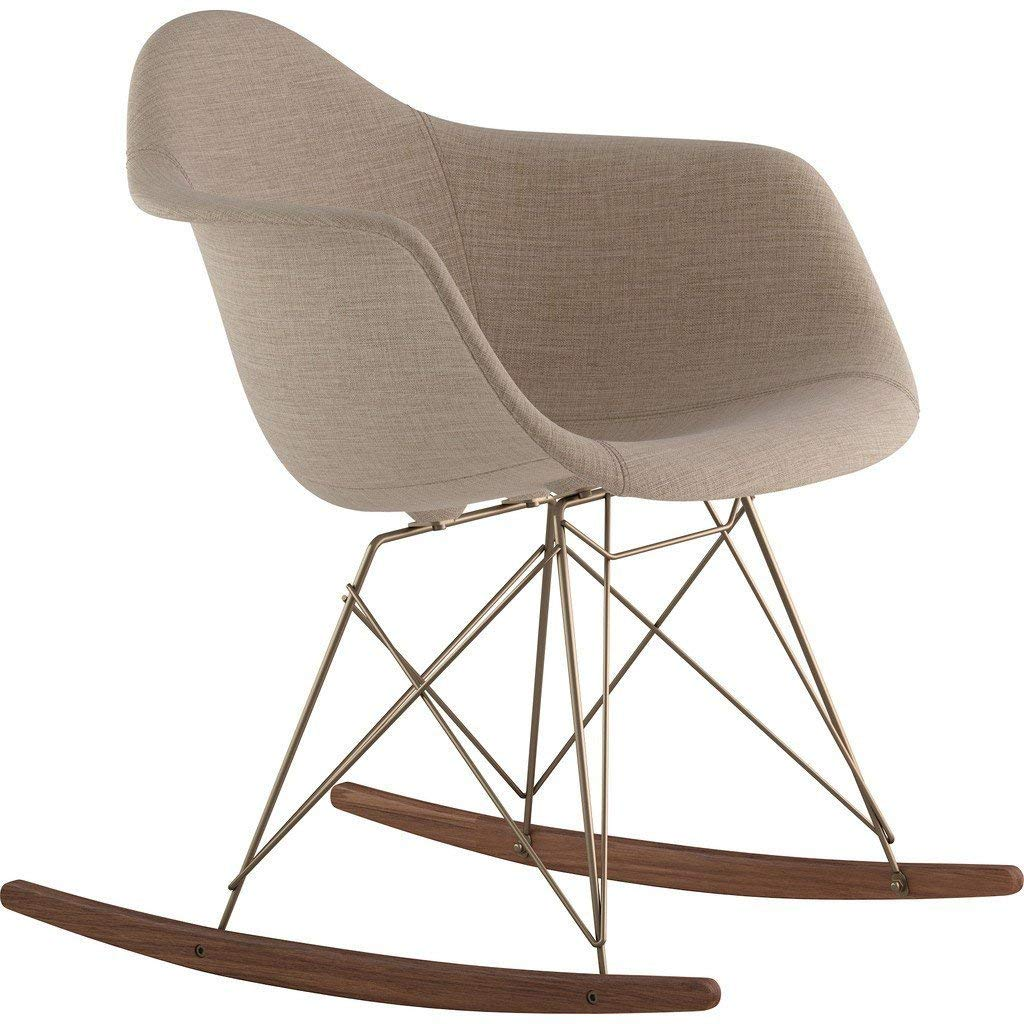 NyeKoncept Mid Century Rocker Chair, Light Sand by NyeKoncept