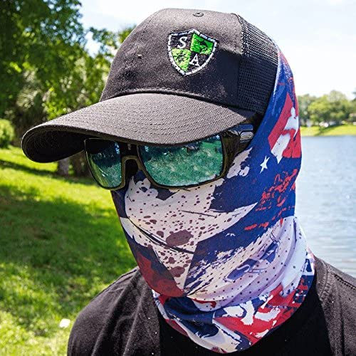 SA Fishing Face Shields ** 40 Scarf Neck Scarf Fabric /& SPF 40/Face Masks by SA Company Designs to Choose From ** Quality Multi-Functional Head-wear Bandana