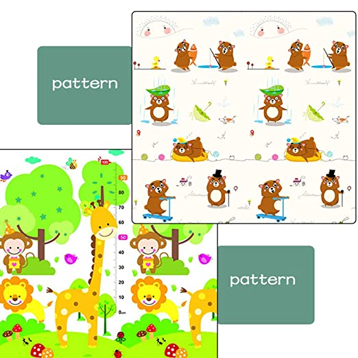 AIBAB - Esterilla de Espuma para bebés y niños, XPE Gruesa ...