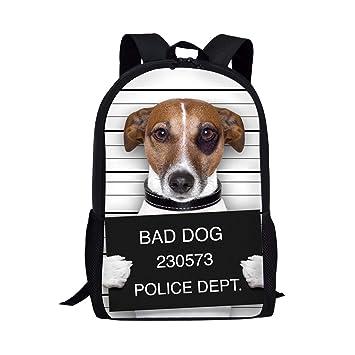 chaqlin Puppy Book Bag Backpack Shoulder