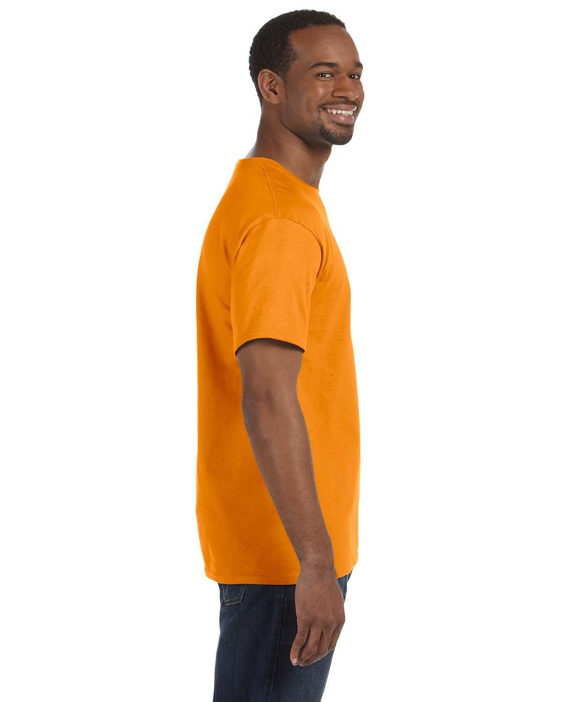 Hanes TAGLESS T-Shirt Safety Orange 4X-Large
