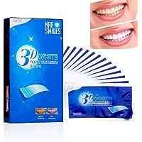 NAF glimlacht tanden bleken strips, bleken strips, niet-peroxide, professionele non-slip, veilig voor emaille, 3D-wit…