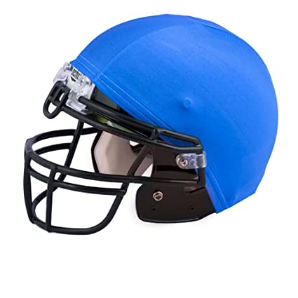 amazon com champion sports football helmet covers color blue hcbl