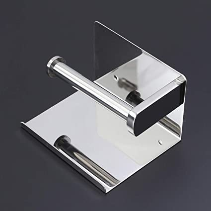 Amazoncom Yardwe Stainless Steel Roll Paper Holder Toilet Tissue
