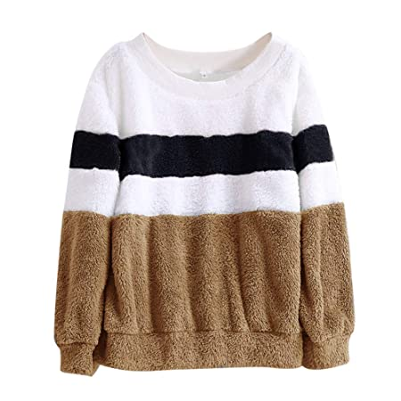 Amazon.com: TIANRUN Womens Winter Color Matching Solid ...