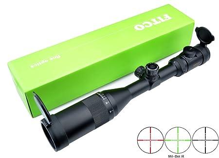 Armbrust Zielfernrohr Mit Entfernungsmesser : Fitco zielfernrohre 3 9x50aoeg rot grün beleuchtet 30mm tube