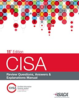 amazon com cisa review manual 26th edition 9781604203677 isaca rh amazon com manual de preparacion examen cisa