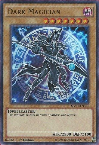 Yu-Gi-Oh! - Dark Magician (MVP1-EN054) - The Dark Side of Dimensions Movie Pack - 1st Edition - Ultra Rare