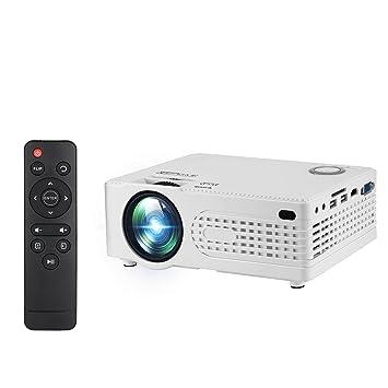 2000 lúmenes Mini Proyector de vídeo HD 1080p, aozbz cine en casa ...