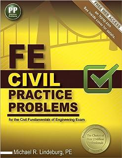 fe civil review michael r lindeburg pe 9781591265290 amazon com rh amazon com kaplan civil engineering fe review manual civil engineering fe review manual pdf download