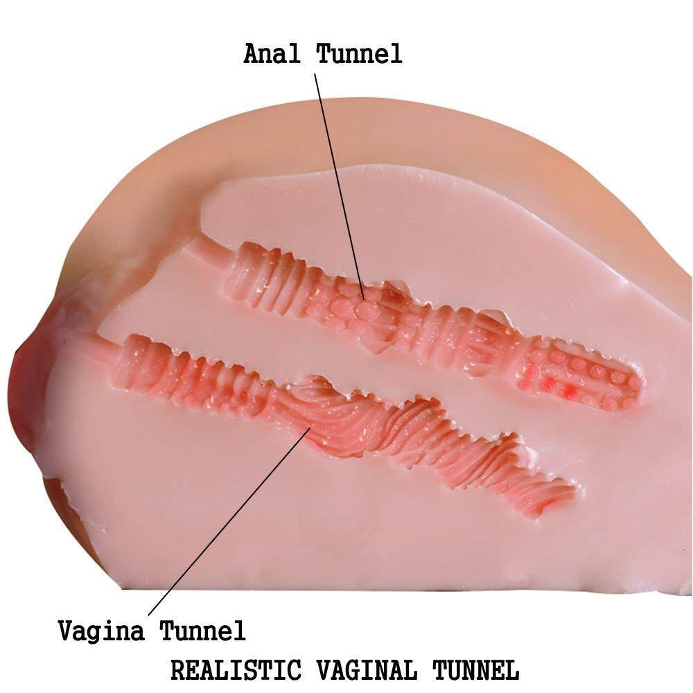 Juguete De Masturbación Realista Masculino - Muñeca 3D De Entidad Realista A Tope 3D Muñeca Juguetes Vaginales De Sexo Para Adultos Anal Con 2 Agujeros 40bc70