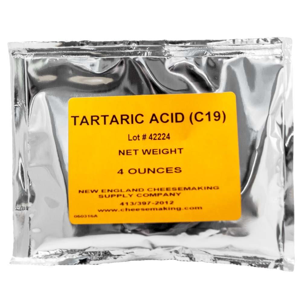 Tartaric Acid - 4oz. TRTV1315