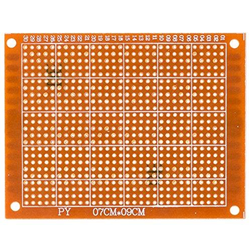 10 Pcs. Breadboard Universal Printed Circuit Panel Board Prototype PCB 7cm x 9cm