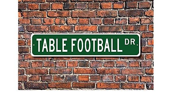 CELYCASY - Cartel de futbolín para mesa de fútbol, diseño de ...
