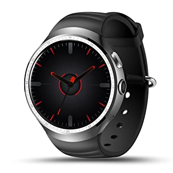 LEMFO Android 5.1 OS 3G Tarjeta Inteligente Reloj Teléfono 16G ROM RAM de 1G Nano SIM