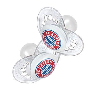 6-16 Monate FC Bayern M/ünchen Schnuller 2er Set