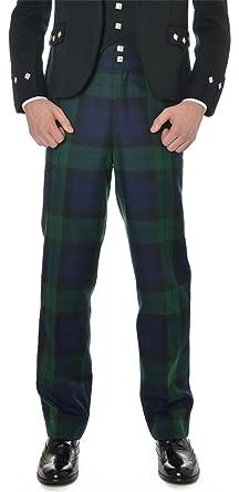 Amazon.com: Mens Scottish Black Watch Tartan Trousers: Clothing