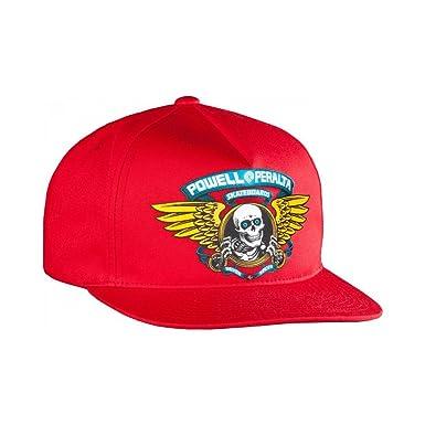 powell_peralta Gorra Winged Ripper Rojo Talla: OSFA (Talla única ...