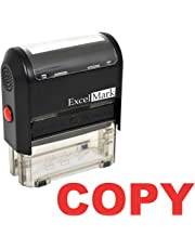 ExcelMark Copy Self-Inking Rubber Stamp (A1539-Red Ink)
