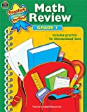 Math Review, Grade 1, Mary Rosenberg, 0743937414