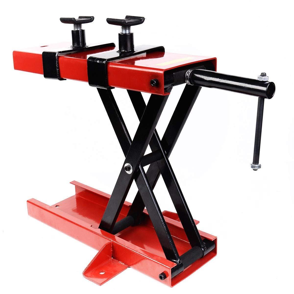 1100 LB Mini Scissor Lift Jack ATV Motorcycle Crank Stand Solid Structure