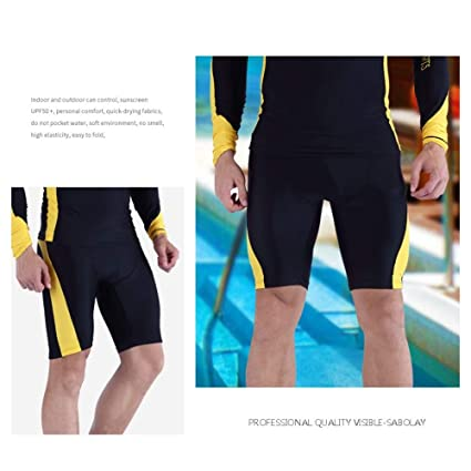 Color : Blue, Size : 5XL Uzanesx Neoprene Mens Wetsuits Shorts Thick Warm Trunks Diving Snorkeling Swimming Pants