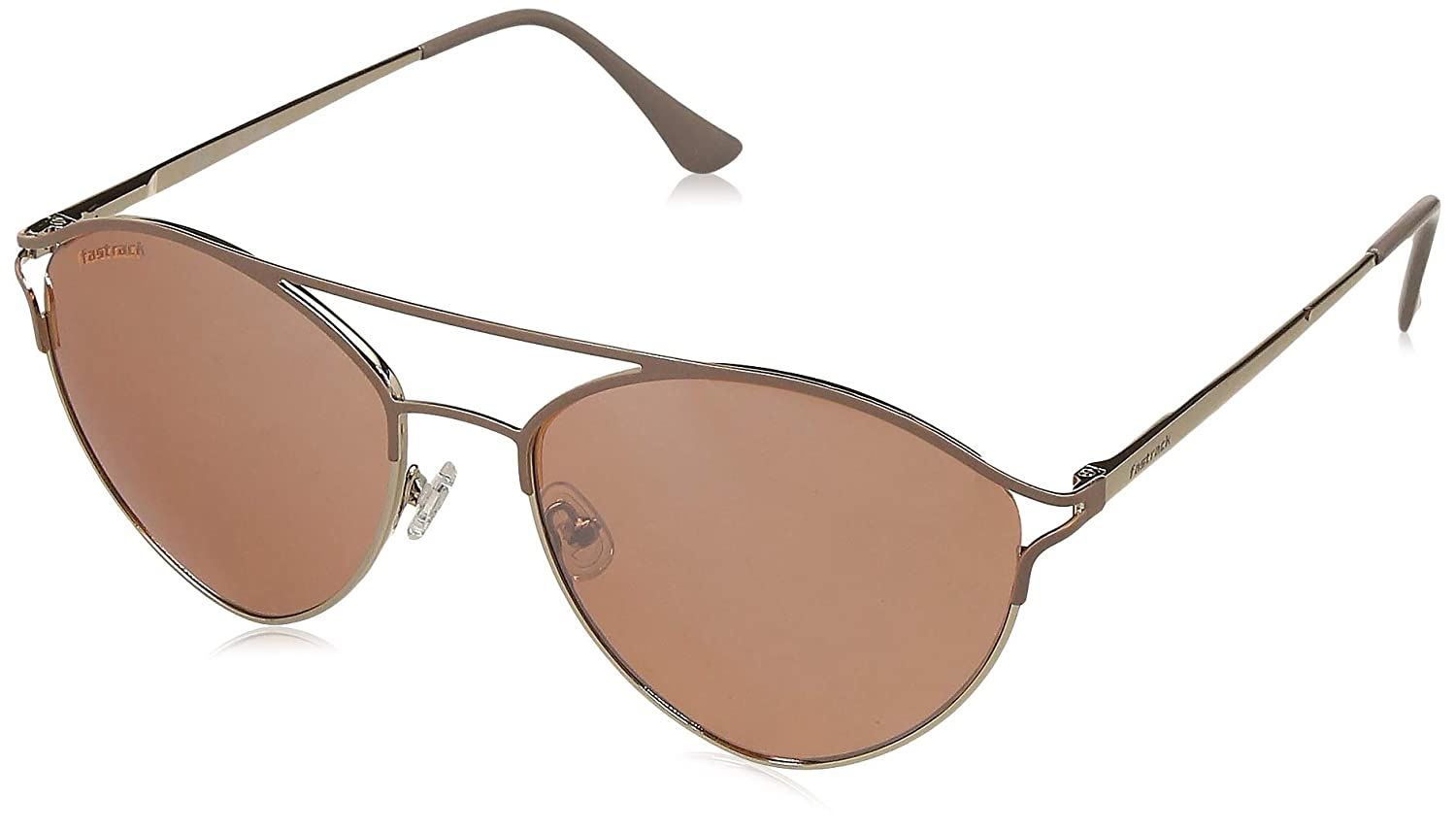 fafe403ba60 Fastrack UV Protected Aviator Women s Sunglasses - (NBM185YL1F