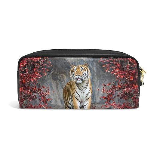 Domoko Landscape Nature Tiger - Estuche de piel sintética ...