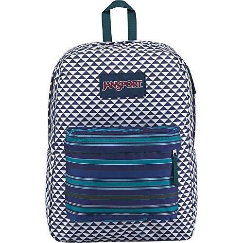 JanSport Superbreak Backpack- Sale Colors (Neo (Geo Accessory Pack)
