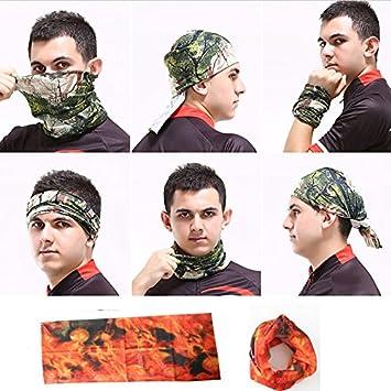 Buy Tube Bandana Bikers Head Face Mask Kneck Multifunctional Scarf