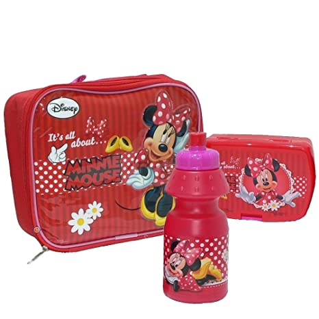 Disney - Bolsa para llevar comida (MINNIE-553-43253): Amazon ...