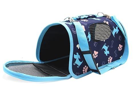 BPS Transportín Portador Bolsa Bolso de Tela para Mascotas Perros Gatos Animales Transportadoras 3 Tamaños S